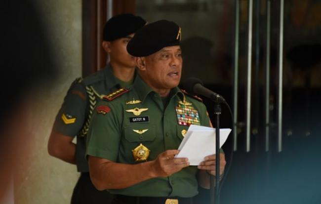 Cegah Adu-Domba SARA, Panglima TNI Ajak Parpol Jaga Pancasila dan Kebinekaan