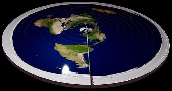 Ilmuwan Sebut Bumi Pernah Datar