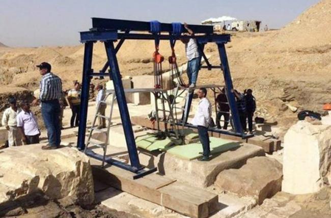 Makam Putri Firaun Ditemukan Dekat Reruntuhan Piramida Mesir