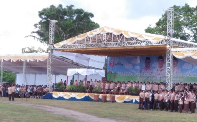 Menag Buka Perkemahan Pramuka Madrasah Nasional (PPMN) III di Babel