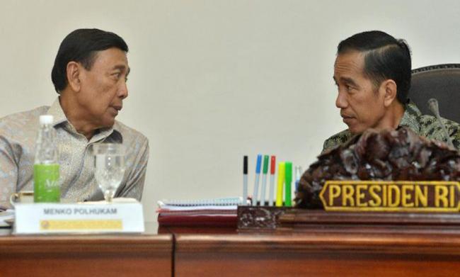 Penjelasan Jokowi Terkait Rencana Wiranto Bubarkan Ormas Anti-Pancasila