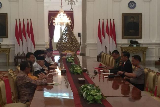 Pesan Penting Jokowi Usai Pertemuan Tertutup dengan Para Tokoh Agama
