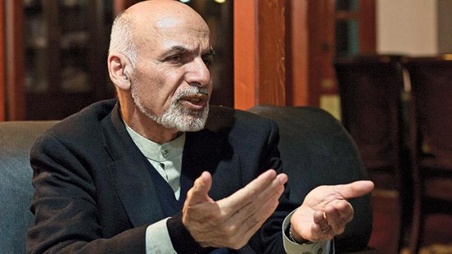 Pesan Presiden Afghanistan Ashraf Gani Kepada Jokowi