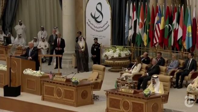 Pidato Trump di Hadapan Para Pemimpin Muslim