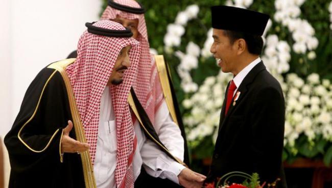 Raja Salman Undang Jokowi dalam Pertemuan Arab-AS