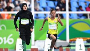 Sprinter Arab Saudi Kariman Abuljadayel