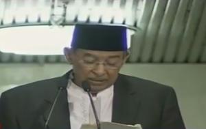Berikut Khotbah Shalat Idulfitri Quraish Shihab di Istiqlal Selengkapnya