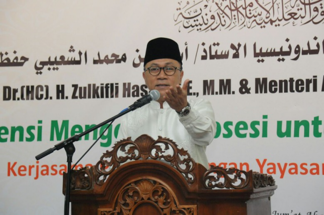 Ketua MPR Ajak Umat Islam Tak Gemar Persoalkan Perbedaan