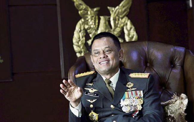 Panglima TNI Tepis Kabar Dirinya Bakal Nyapres Tahun 2019