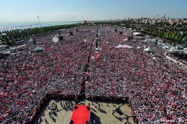 Usai KTT G-20, Demo Akbar Partai Oposisi Guncang Turki