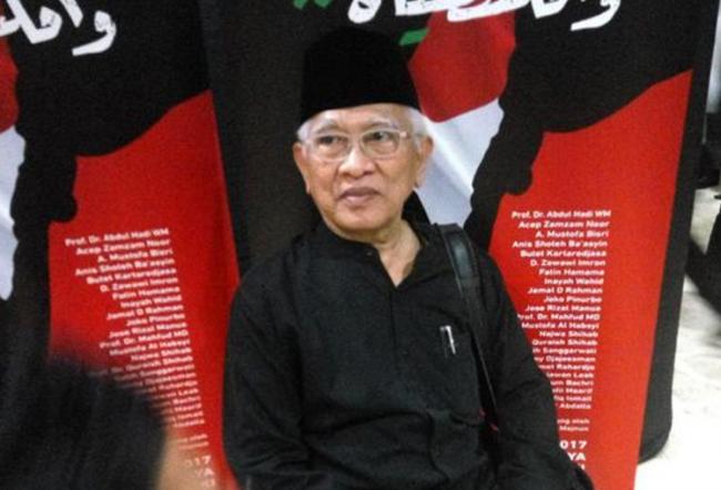 Gus Mus Gelar Malam Puisi dan Doa Bersama untuk Palestina