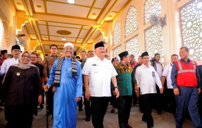 Inilah Icon dan Destinasi Wisata Religi Barudi Palembang