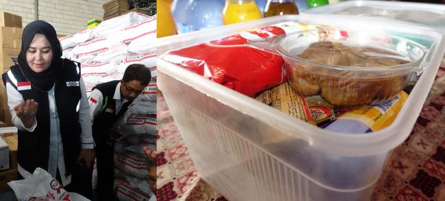 Inilah Paket Katering yang Didapat Jemaah Haji Fase Armina