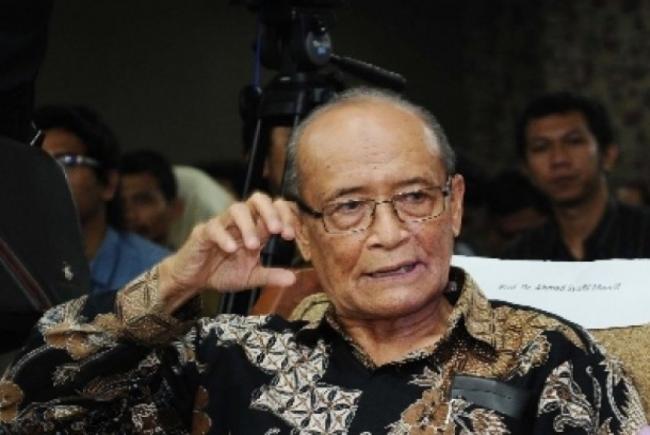 Jelang Ultah ke-72 Kemerdekaan, Buya Syafii Harap Pemerintah Siuman