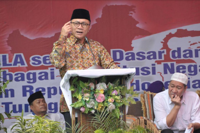 Ketua MPR Berpihak pada Rakyat adalah Inti Demokrasi Pancasila