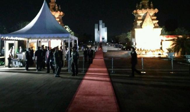 Malam Renungan Kemerdekaan Digelar di TMP Kalibata