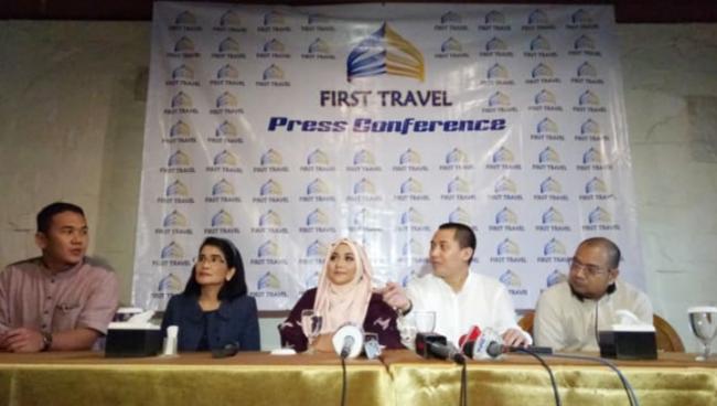 Owner First Travel Ditangkap Usai Jumpa Pers di Kemenag