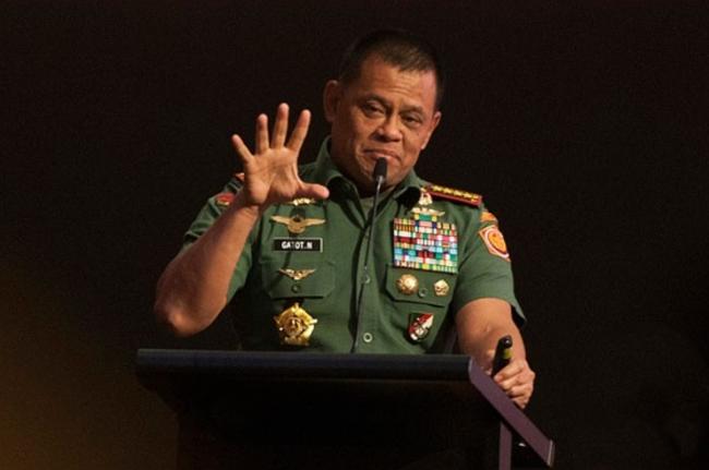 Panglima TNI Waspadai Adu Domba Antarumat Beragama