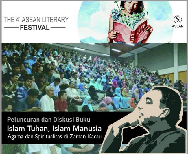 Peluncuran dan Diskusi Buku 'Islam Tuhan Islam Manusia' di Ajang Asean Literary Festival