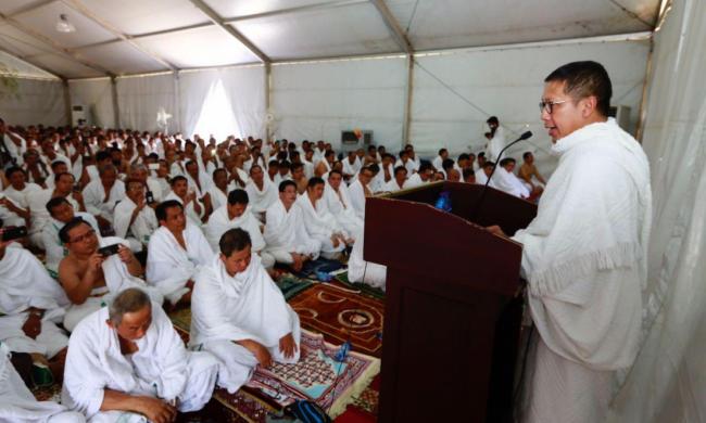 Pesan Menag Dari Arafah Tebar Kedamaian, Terus Perkuat Persaudaraan