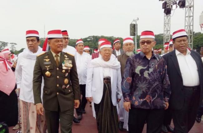 Pesan Panglima TNI di Acara Doa Bersama 171717 Rawat NKRI Jaga Pancasila