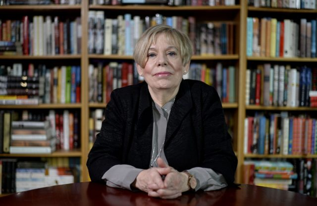fea-armstrong21-Fields of Blood author Karen Armstrong shown in Toronto, Ontario, November 19, 2014. (Aaron Harris/Toronto Star)