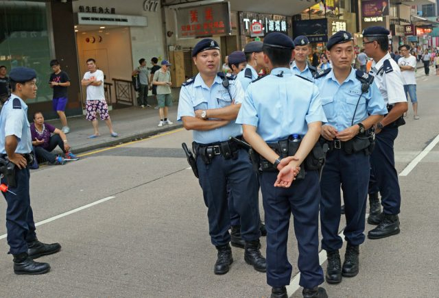 polisi hongkong