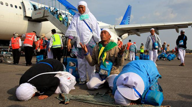 Hampir 90Ribu Jemaah Haji Indonesia Sudah Kembali ke Tanah Air