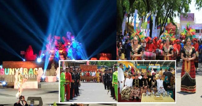 Kemeriahan dan Keberagaman Festival Keraton Nusantara (FKN) XI di Cirebon