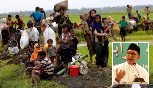 Menag ke Myanmar Hormati HAM Rohingya Tanpa Pandang Etnis atau Agama