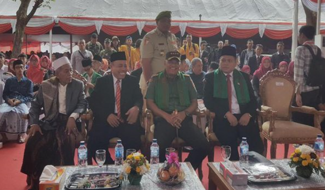 Panglima TNI dan Ulama Banten Teken Deklarasi Anti Hoax
