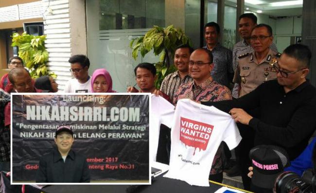 Polisi Tangkap Pendiri Partai Ponsel dan Situs NikahSirri