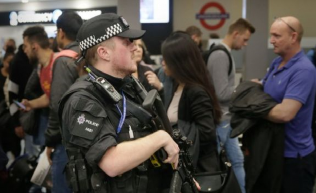 Terduga Pelaku Bom London Ditangkap Otoritas Keamanan Inggris