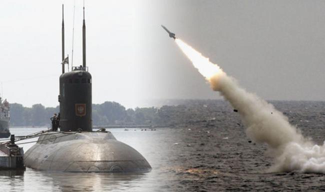 Dari Dua Kapal Selam, Rudal Jelajah Kalibr Rusia Gempur Basis ISIS di Deir ez Zour
