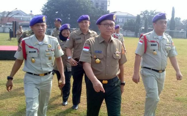 Ketua MPR Ke Menwa Jahit Kembali Merah-Putih yang Hampir Terkoyak