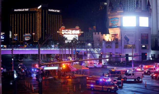 Teror Guncang Las Vegas, 20 Tewas 100-an Terluka
