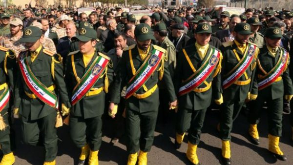 Pasukan Elit Iran, IRGC- Islamic Revolutionary Guards Corps. Photo: Getty Images
