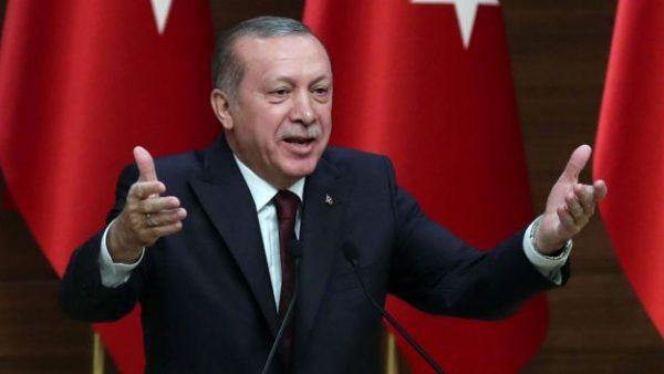 Presiden Turki Recep Tayyip Erdogan mendukung Qatar dalam perseteruannya dengan Arab Saudi. Photo: Adem Altan