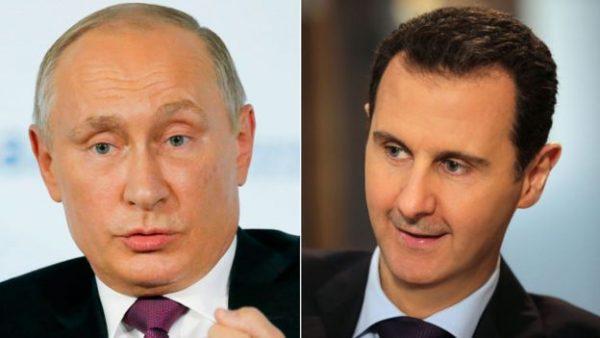 Presiden Rusia Vladimir Putin mengatakan bahwa militer Rusia dan Suriah telah membebaskan 90% wilayah Suriah. Photo: Getty Images