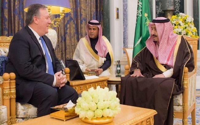 Bos CIA Temui Raja Salman, Bahas Apa