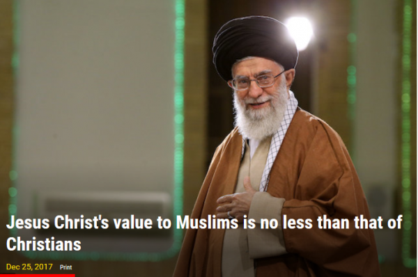 Ali Khamenei di situs khamenei.ir