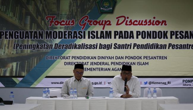 Kemenag Kumpulkan Kiai Ponpes Bahas Penguatan Moderasi Islam