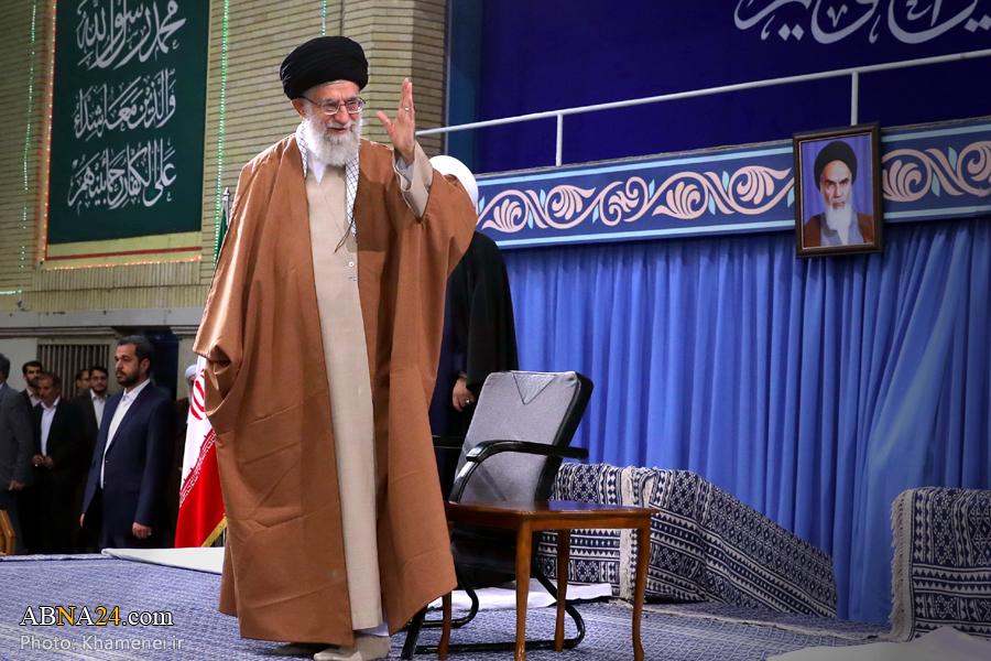 Pemimpi tertinggi Iran, Ayatullah Sayid Ali Khamenei. Photo: AA Daneshrad/ABNA
