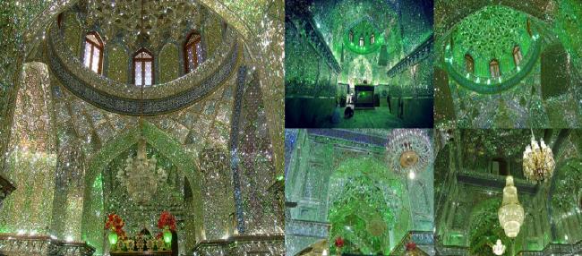 Masjid Iran Berhias Kilau 'Berlian'