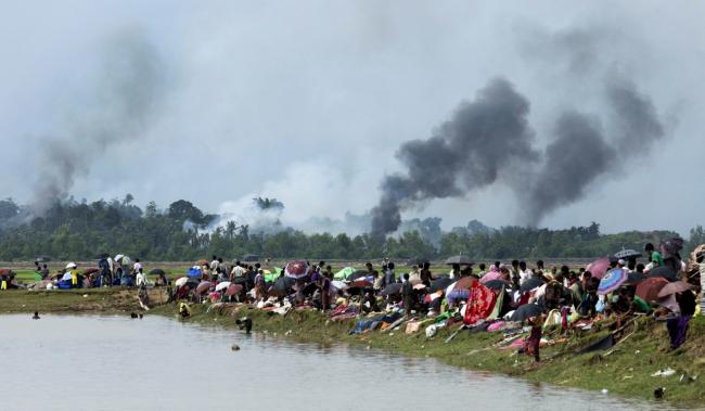 Organisasi Dokter Lintas Batas Ribuan Warga Rohingya Tewas Dalam Sebulan