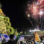 """Di Sitobondo, Maulid Nabi Disambut dengan Tradisi """"Ancak Agung"""""""