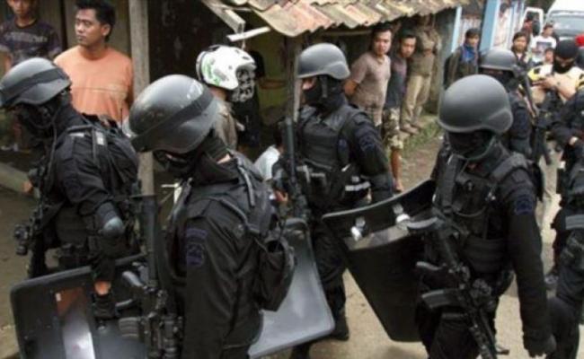 Polisi Tangkap Teroris Jelang Tahun Baru