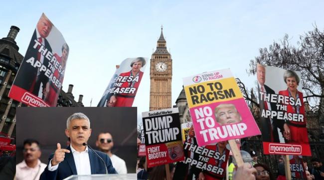 Wali Kota London Tak Ada Tempat di Inggris Untuk Trump