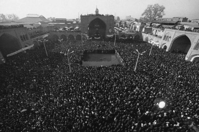 Revolusi Iran tahun 1979. Photo: AP