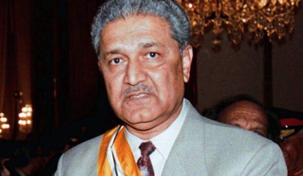 Abdul Qadeer Kahn, ilmuwan senjata nuklir asal Pakistan. Photo: AP
